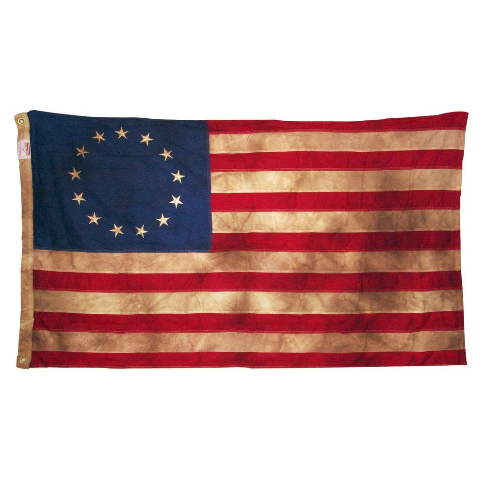PRE-REVOLUTION FLAG, 1776     FOUND OBJECTS / Road To Revolution