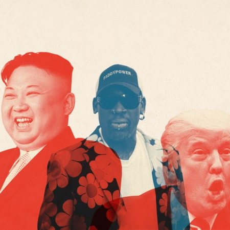 UNLIKELY DIPLOMAT   Dennis Rodman wants credit if North Korea quiets its threats. Where do we even begin?    CONVERSATION / Politics / Primer