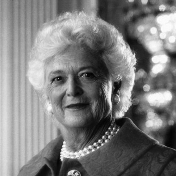 BARBARA BUSH,  1925-2018    CONVERSATION / Legacy / Deep Dive