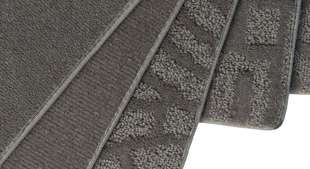 BASES DE TAPIS TEXTURÉS - Choisir la bonne base de tapis améliorera le résultat final du d.i. design.