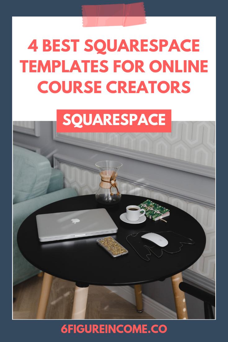 4 best Squarespace templates for online course creators — 6 Figure ...