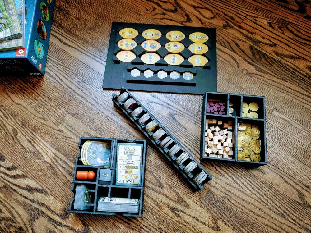 Removable organizers