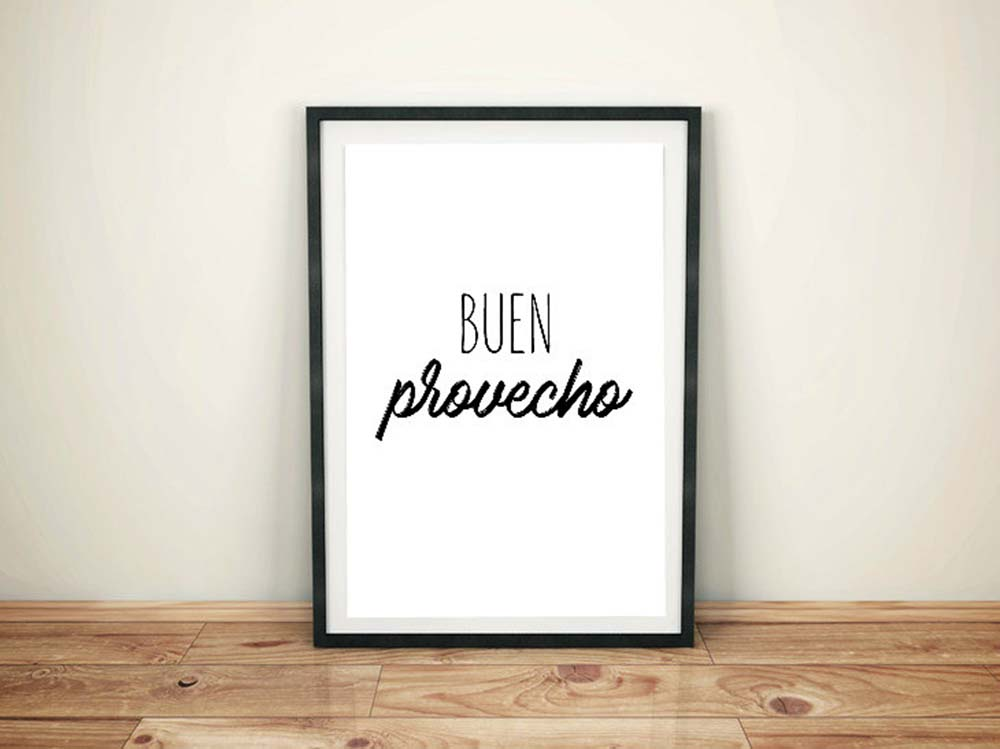 buen-provecho-bon-appetite-quote-spanish-wall-art-poster-typography-spanish-wall-art-spanish-etsy-apartment-therapy-spanish-word-porn-spanish-immersion.jpg