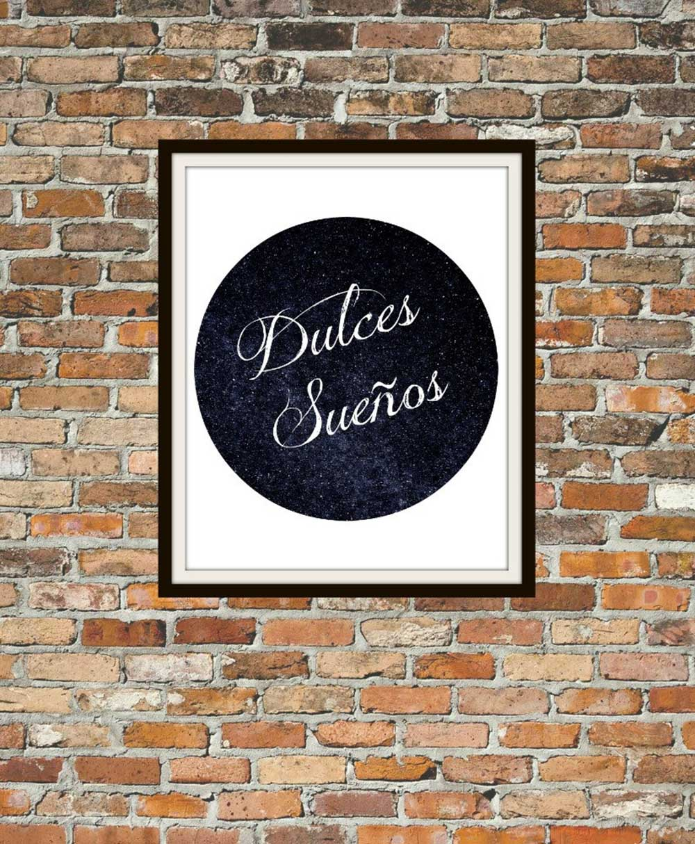 dulces-sueños-sweet-dreams-poster-in-spanish-quote-spanish-wall-art-poster-typography-spanish-wall-art-spanish-etsy-apartment-therapy-spanish-word-porn-spanish-immersion.jpg