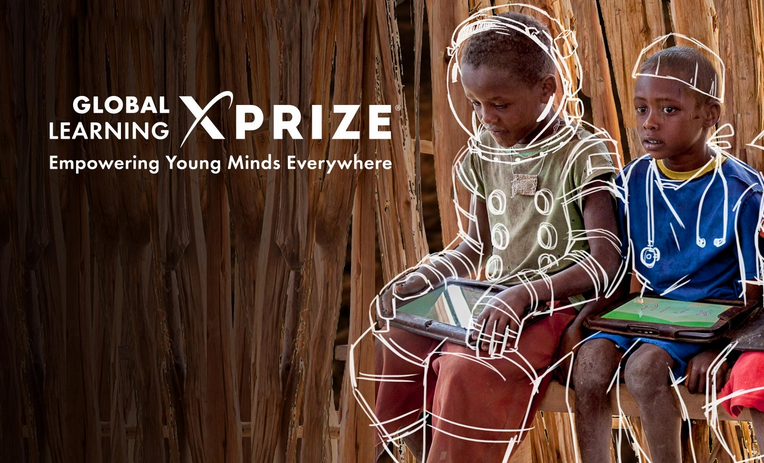 """The Global Learning XPRIZE is designed to empower children to take control of their own learning. The XPRIZE challenges teams from around the world to develop open source and scalable software that will enable children in developing countries to teach themselves basic reading, writing and arithmetic within 15 months."""