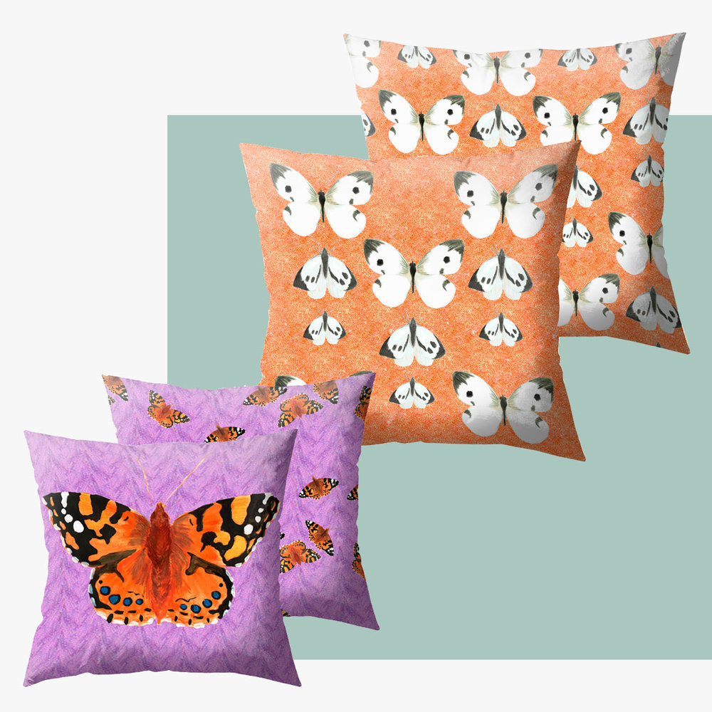 Need a colour pop? - Shop the cushions.