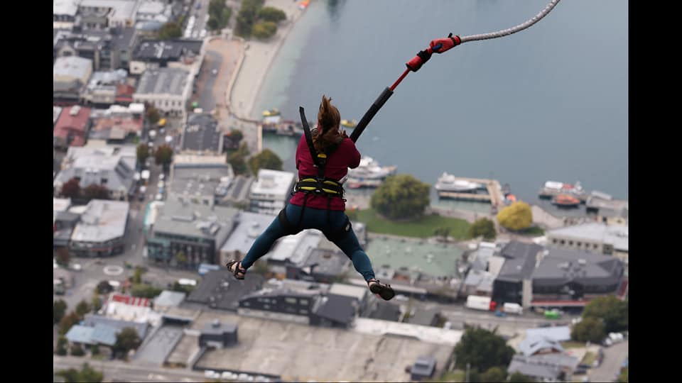 The Ledge Bungy, Queenstown, NZ