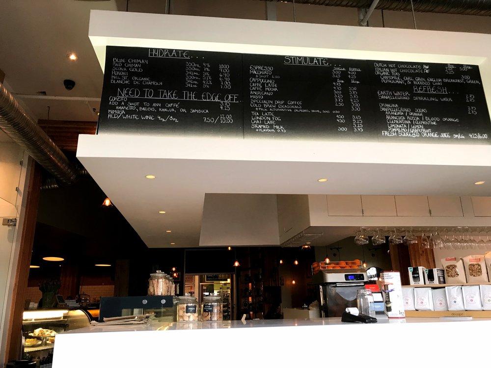 Edmonton Coffeeshop Da Capo in Whyte Ave YEG