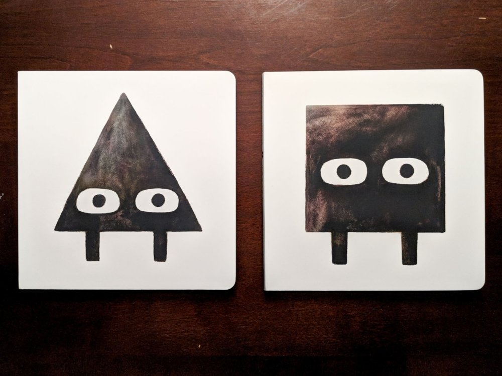 Triangle  and  Square,  by Mac Barnett and Jon Klassen.