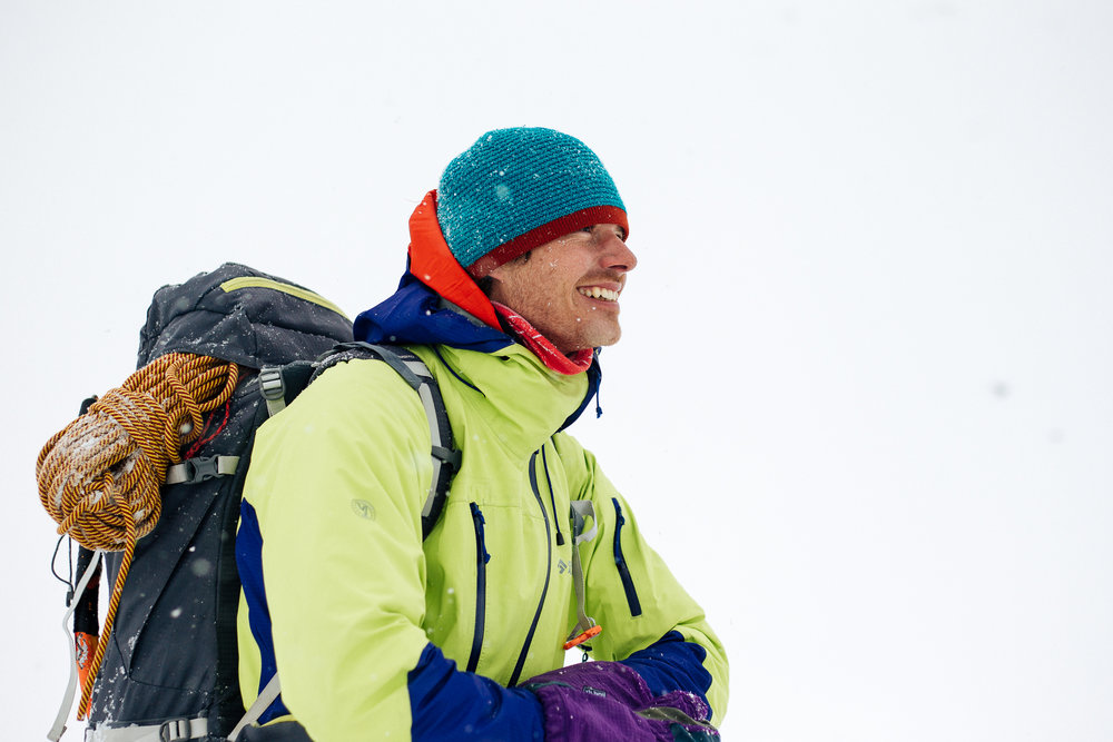"Richard Béreš in main role as a ""true skialpinist."""