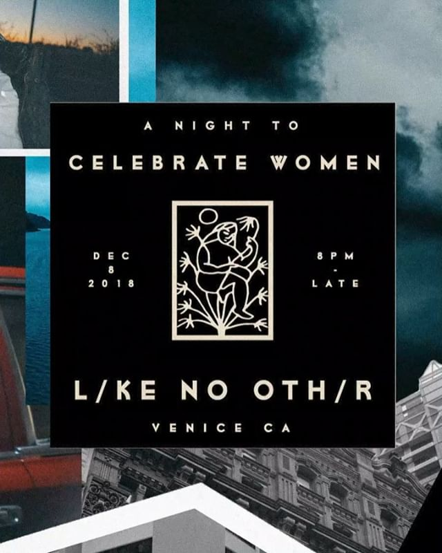 Only 2 days away from our HOLIDAY PARTY.  Celebrating women L/KE NO OTH/R. Join us for another night of celebration, music, and family. // @likenoother.world  Featuring a silent auction with all proceeds benefiting @plannedparenthood