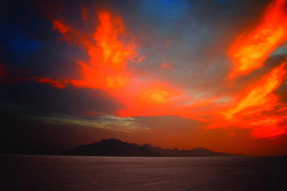 Photo of Bonneville Salt Flats by B. Lane Johns