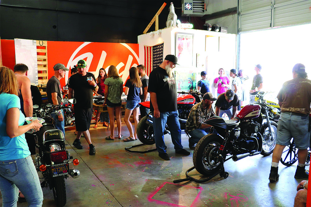 Photos of last summer's Hesh Motorcycle Show by Kevin Eckerman.