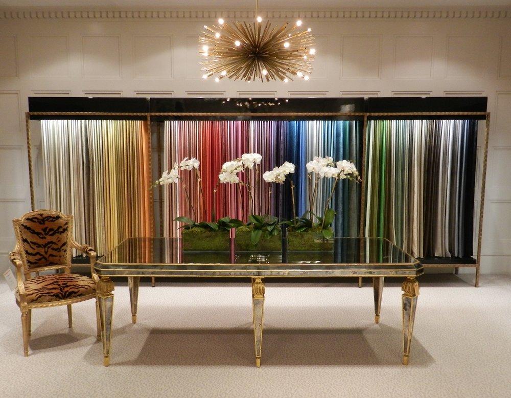 Luxury fabric house Brunschwig & Fils NYC showroom