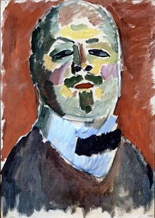 Self-Portrait by Alexei Jawlensky, 1905