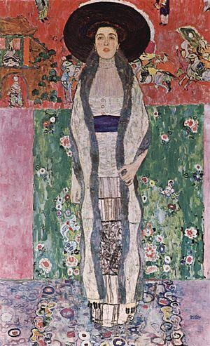Portrait of Adele Bloch-Bauer II by Gustav Klimt