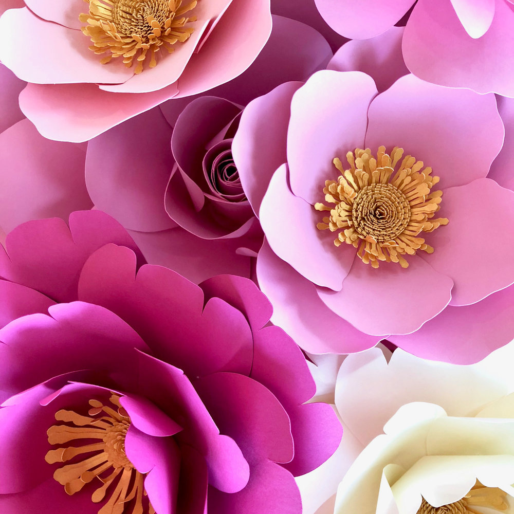 Paper Flowers -