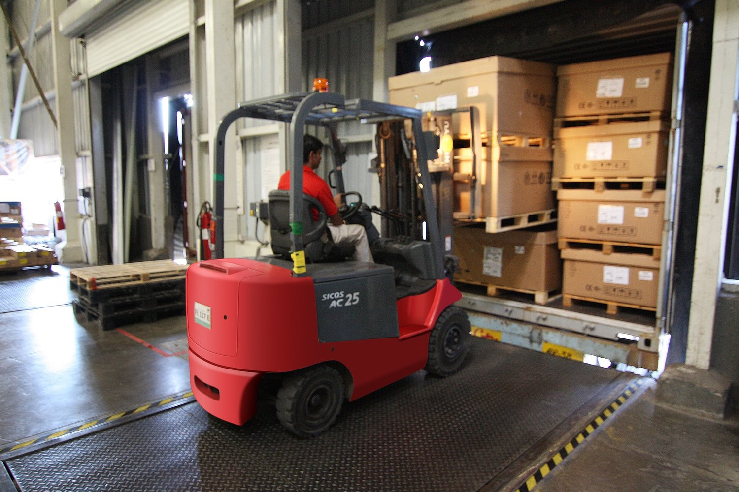 Forklift Certification Thinksafety