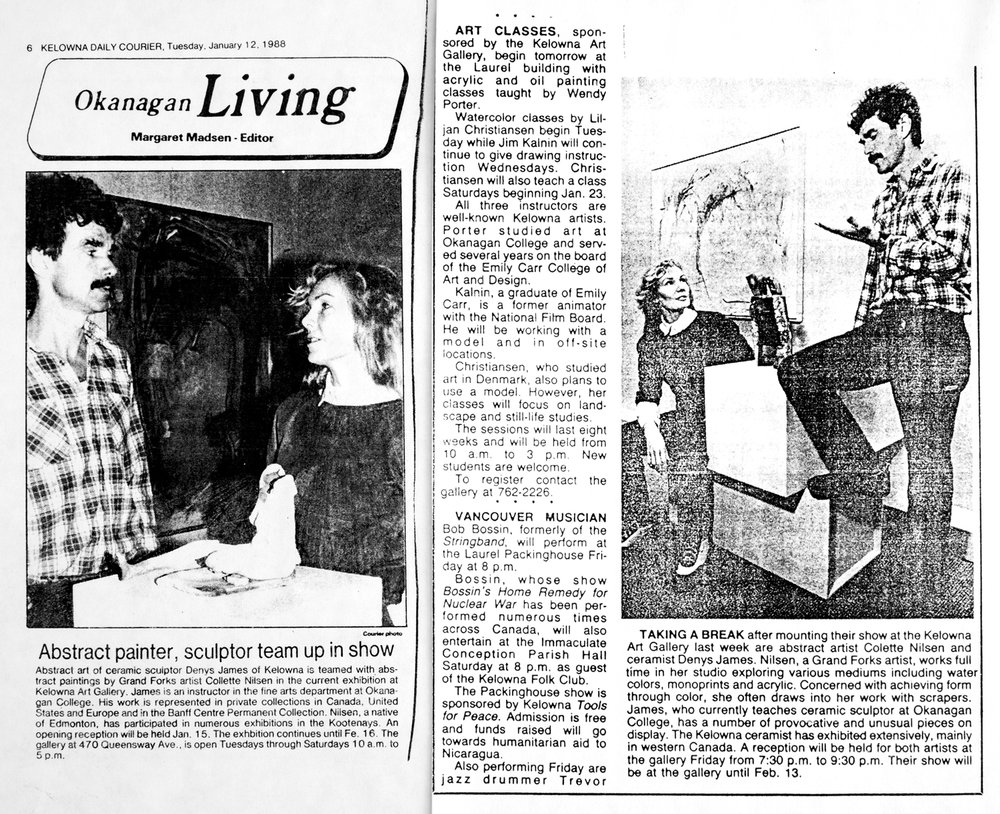 1988 Okanagan Living review