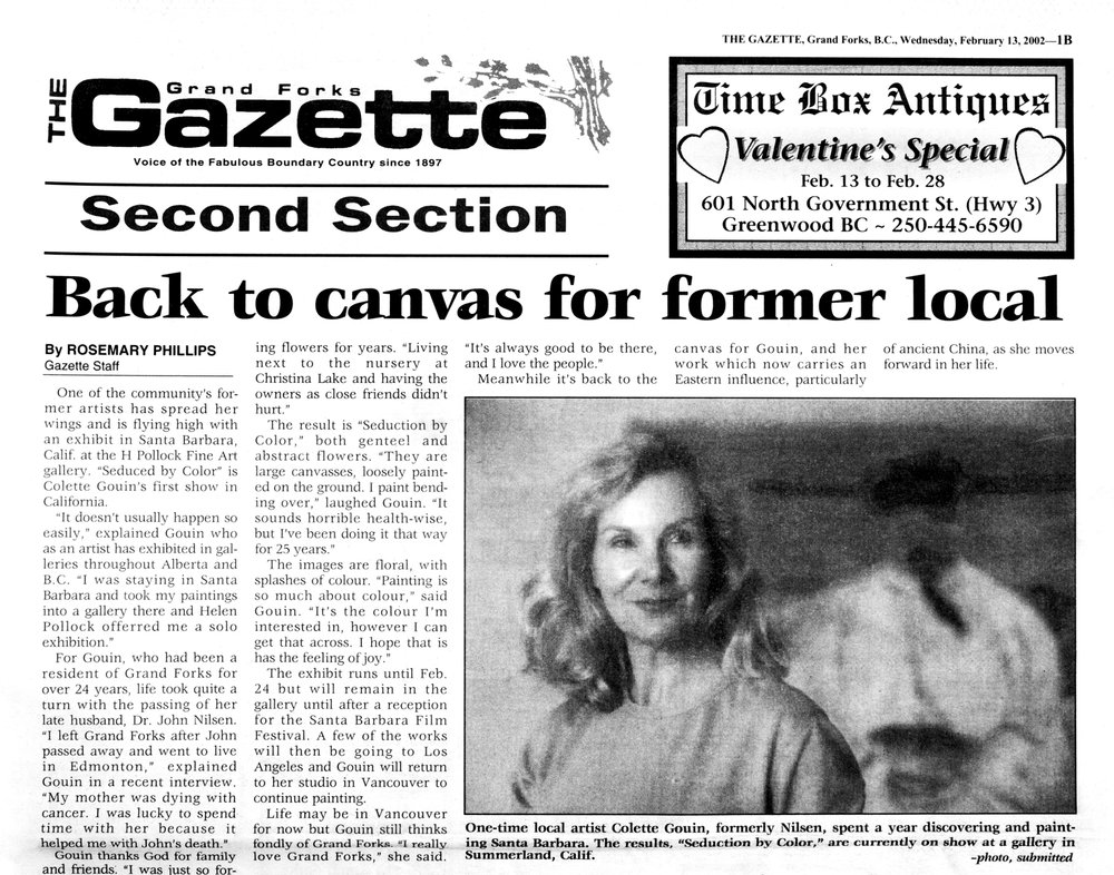 2002 Grand Forks Gazette review