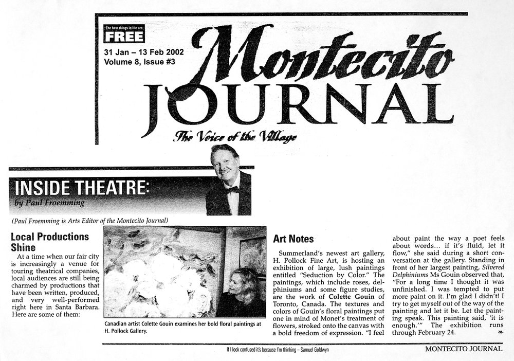 2002 Montecito Journal review