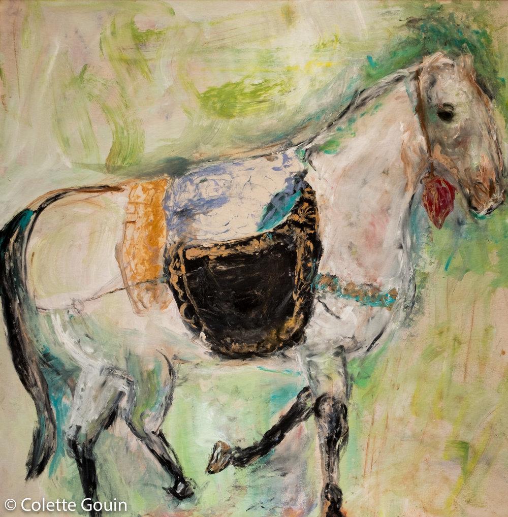 Gilded Saddle