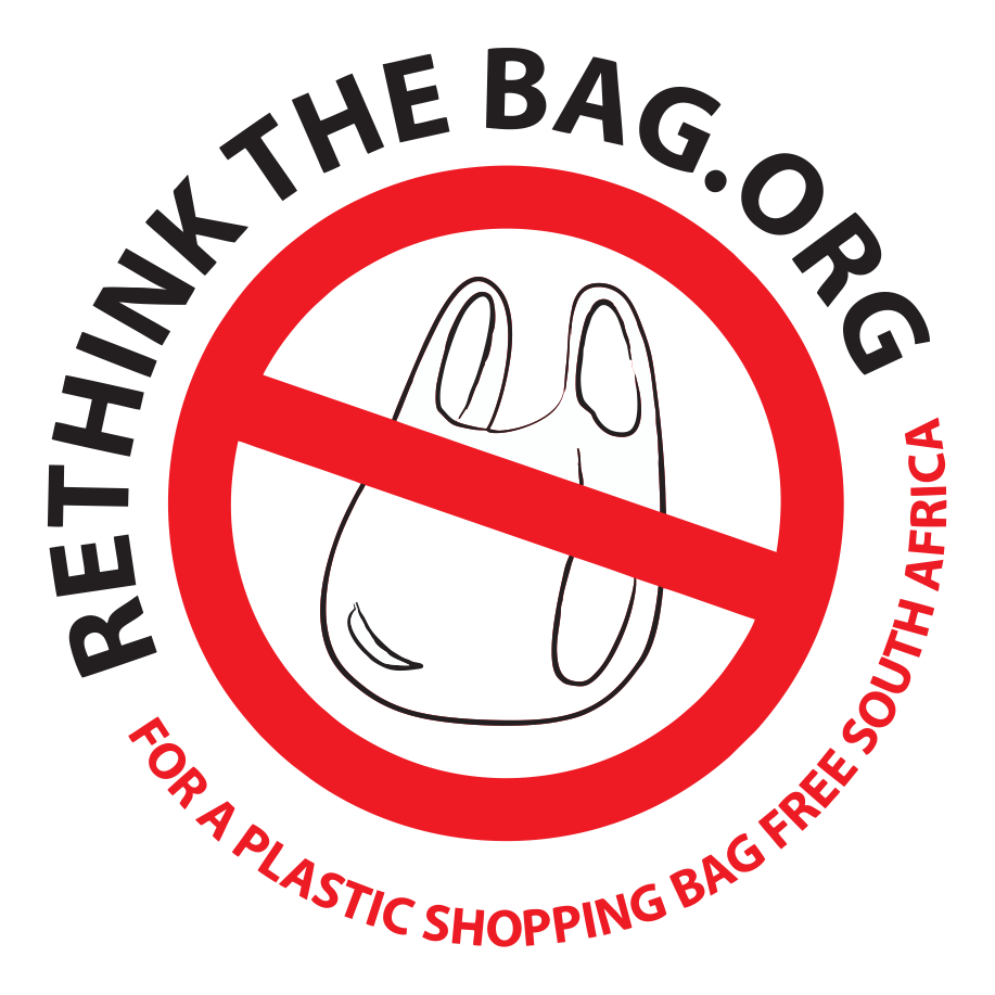 Rethink the bag.org logo - Raisingawareness about harmful  plastic bags