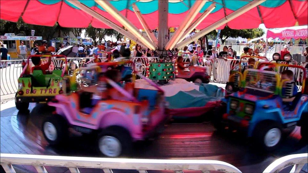 Fun Car Carousel