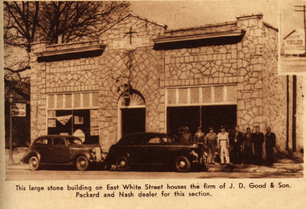 J.D. Good & Sons, Packard and Nash dealership 1939