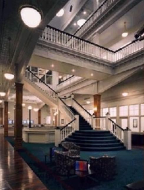 Interior of old Friedheim's Department Store