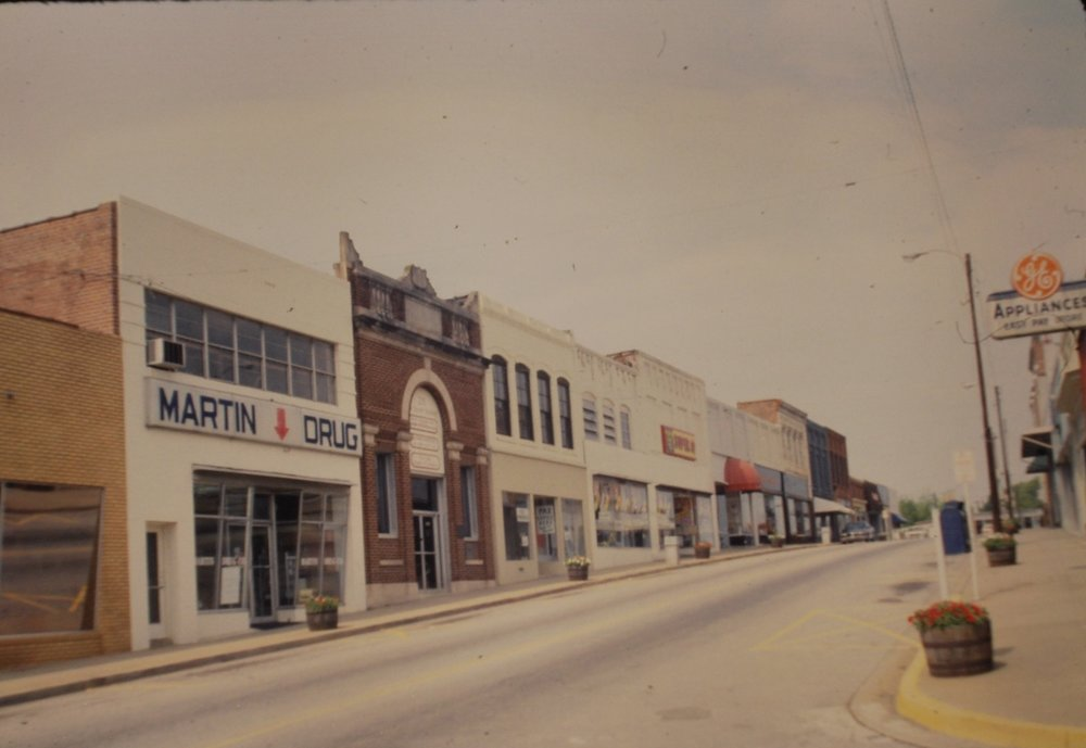 213 Main when it was still Martin's Drug Store