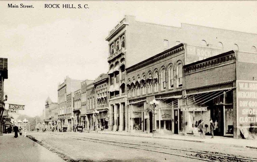 Main Street looking west circa 1910