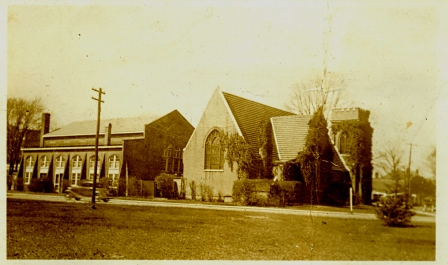 Image in ca. 1950 of the Episcopal Church