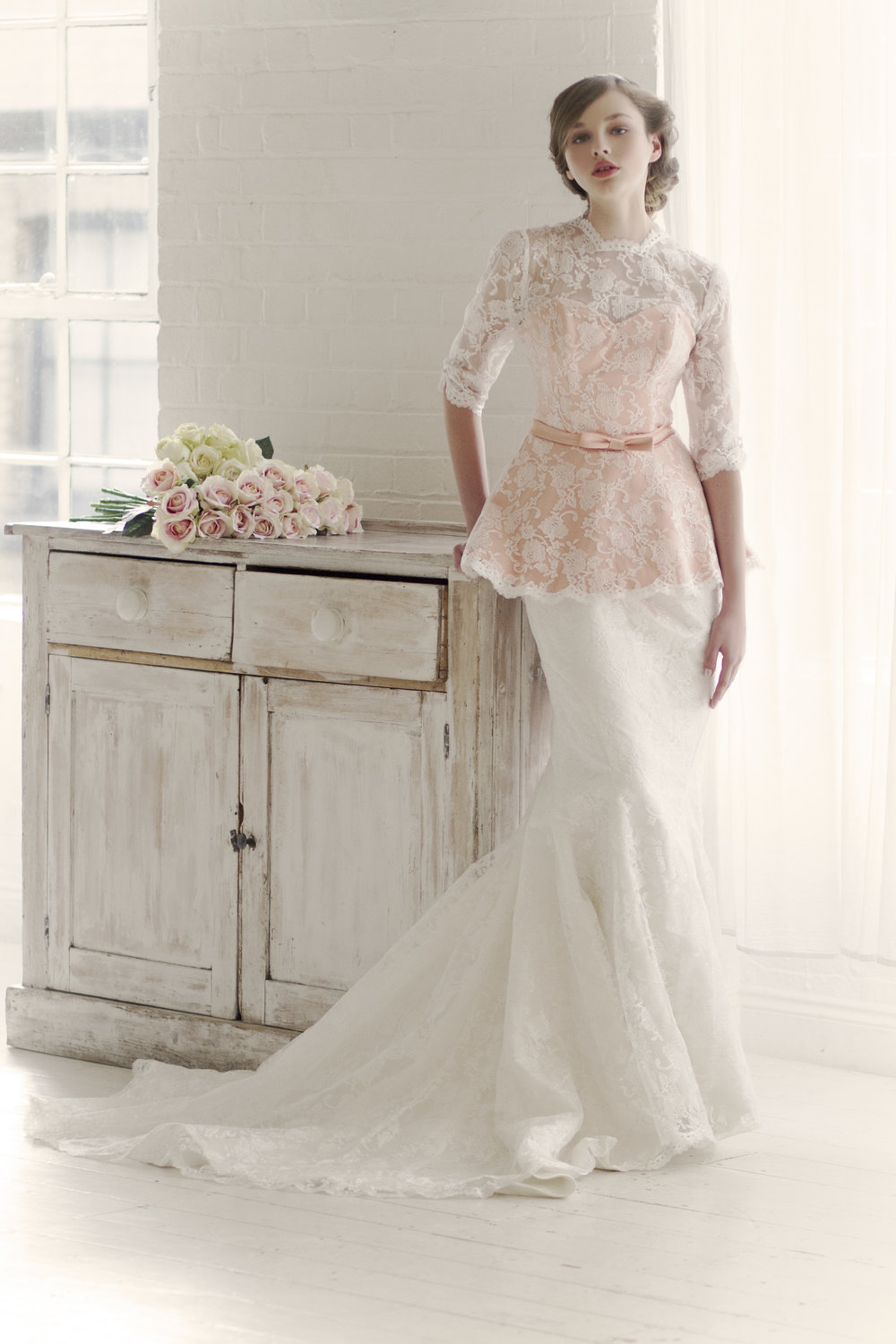 "Our Values  - The brand is about being more considerate, feminine and providing brides to be with a ready to wear alternative to bridal gowns that still feel bespoke yet are economical from a price perspective. The core inspiration is giving customers the freedom to ""mix and match"" their favourite elements from our collection to create their final wedding look whilst also offering a fully bespoke service upon inquiry."