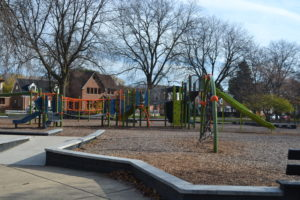 New Chicago Plays! playground equipment