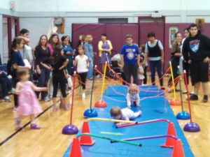 Obstacle course at the Fall Open House