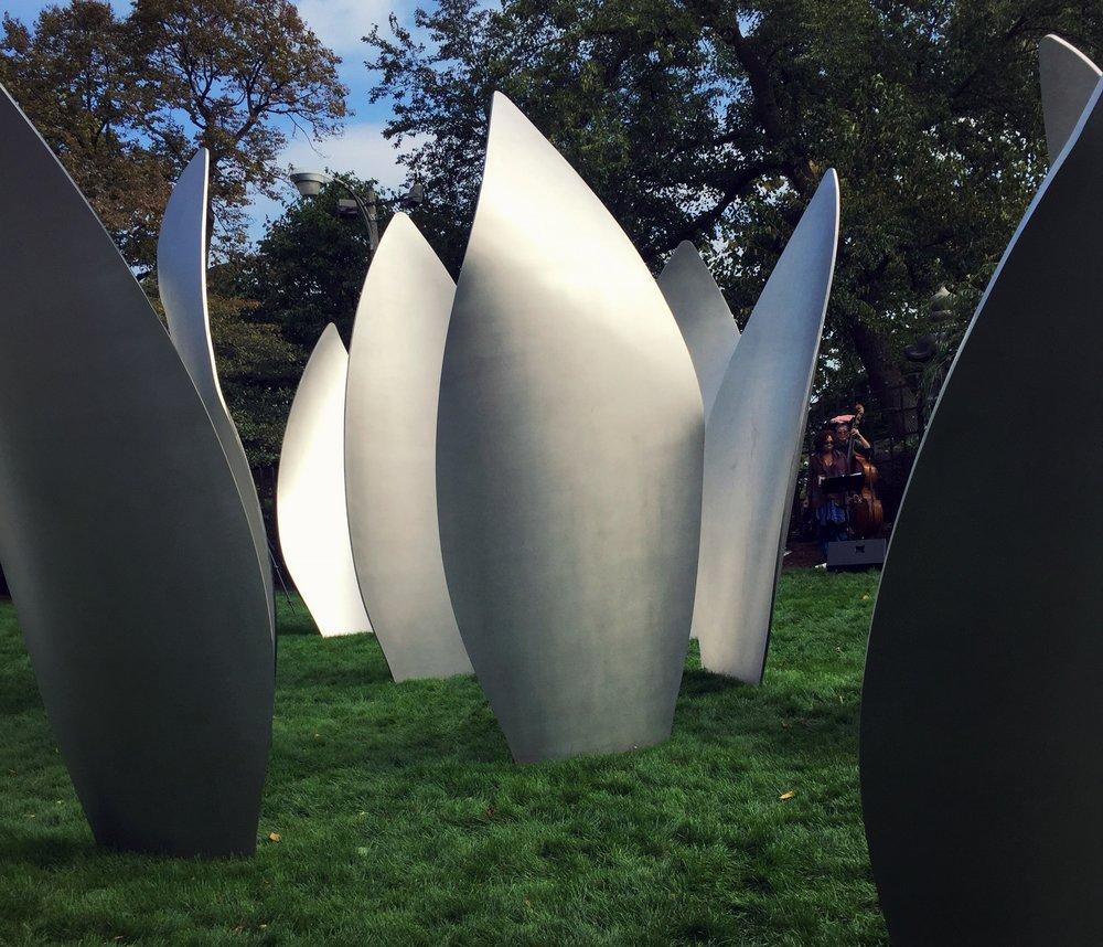 Yoko Ono's  Skylanding, Jackson Park