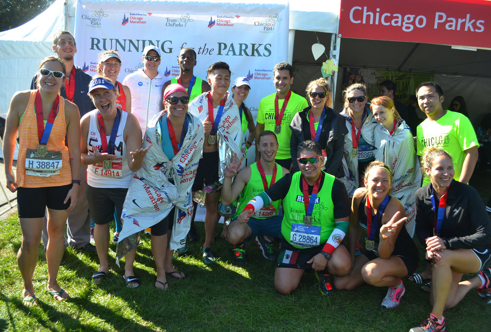 Team ChiParks Chicago Marathon
