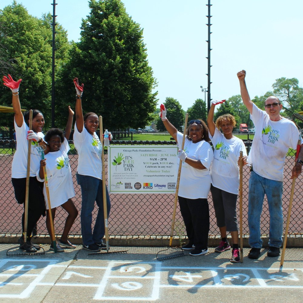 IT'S YOUR PARK DAY   JUNE 2018 • Citywide