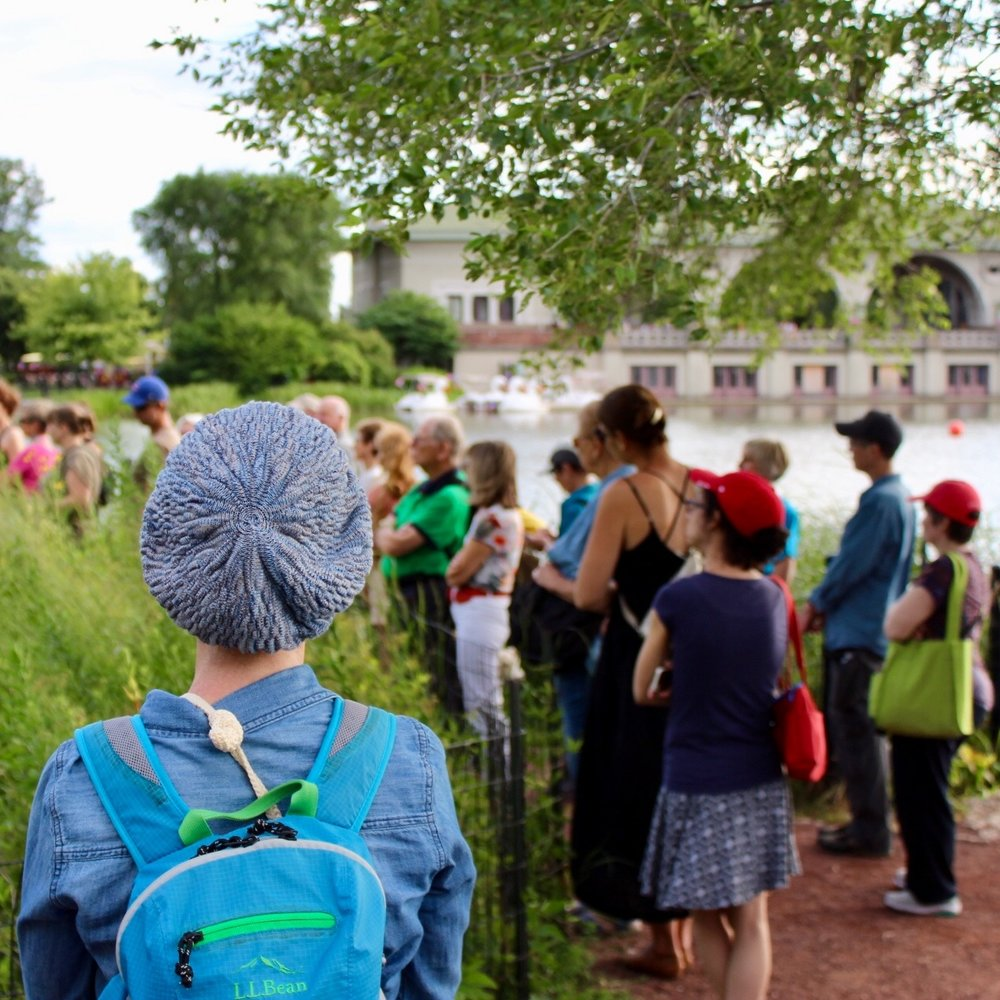 ART IN THE PARKS TOUR SERIES   MAY-OCT 2018 • Citywide