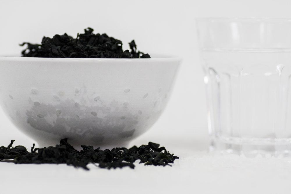BAIHU Instant Noodles Algae