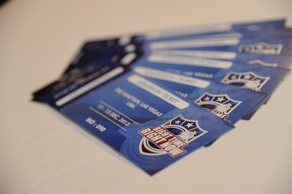 Tickets to the conference