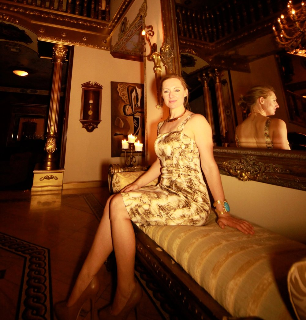 Rachel Clarke in Las Vegas