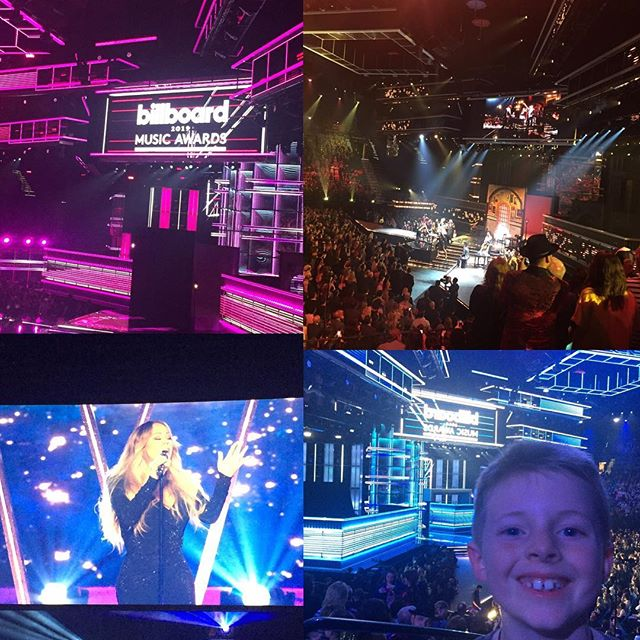 🎫 Austin's First Concert!! he was in awe of the performers and the stage crew!  And I bucket listed @mariahcarey @madonna