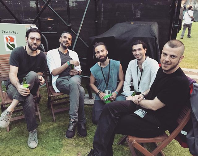 Thank you @waslamusic for bringing us all together for an amazing weekend // @elmorabba3 Backstage with @elfar3i