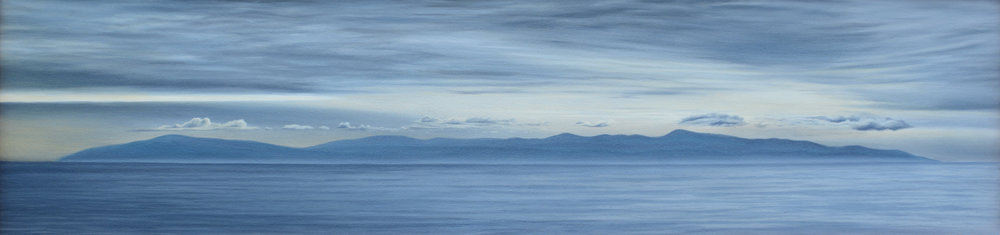 """Oil on Canvas    16""""x64""""    Original-Available    Prints Available"""