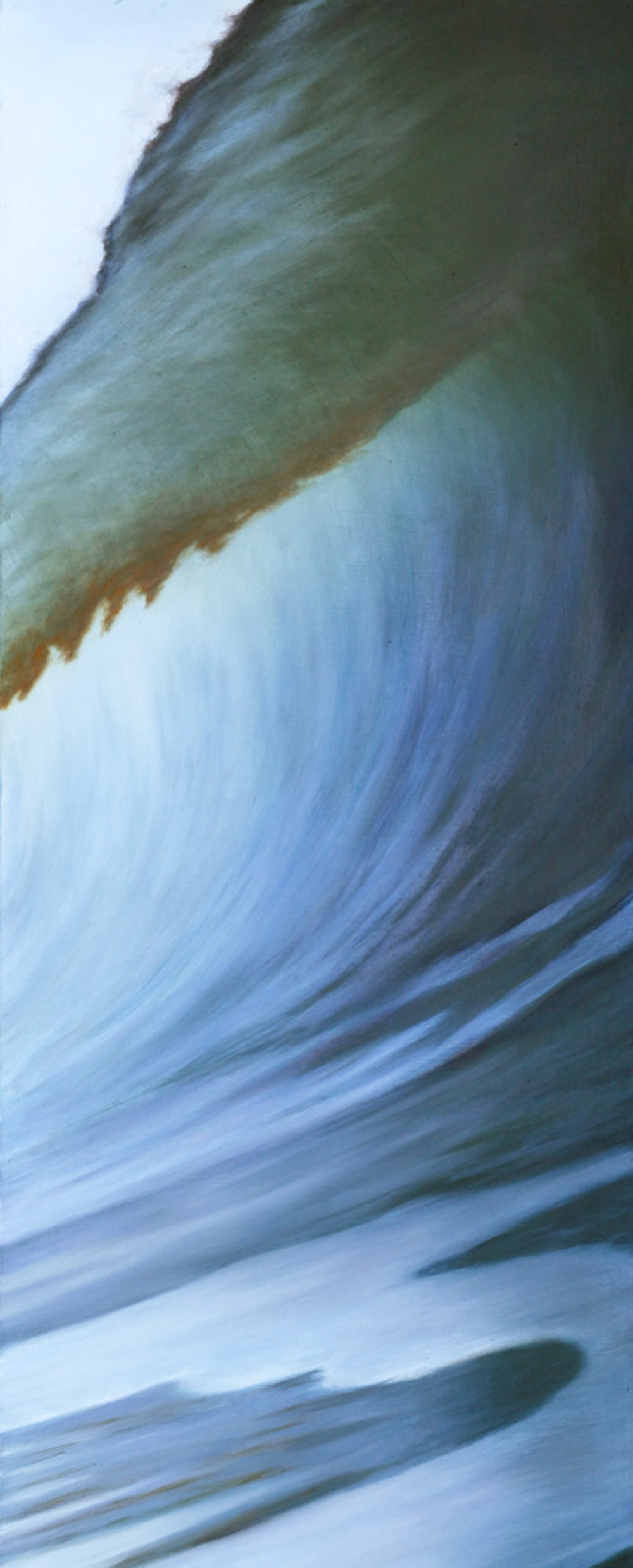 """Oil on Wood    52""""x19""""    Original-Sold    Prints Available"""