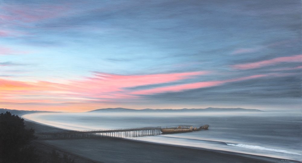 """Oil on Canvas    30""""x54""""    Original-Sold    Prints Available"""