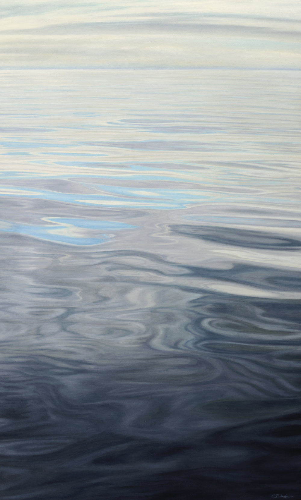 "Oil on Canvas    48""x26""    Original-Sold    Prints Available"