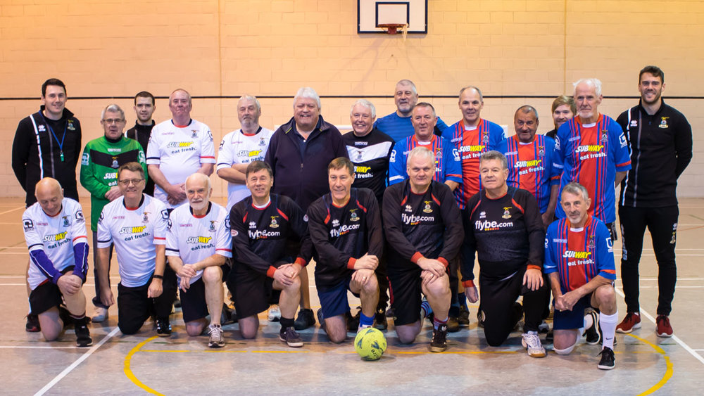 Inverness Caledonian Thistle FC Community Development Walking Football Group